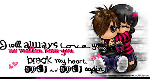 Think, that emo i love you quotes